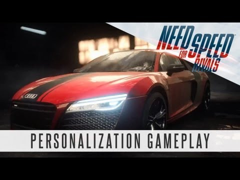 Need for Speed Rivals Gameplay - Racer Personalization Feature