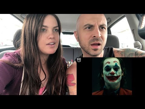 THE JOKER JOAQUIN PHOENIX MAKEUP TEST REACTION!!!