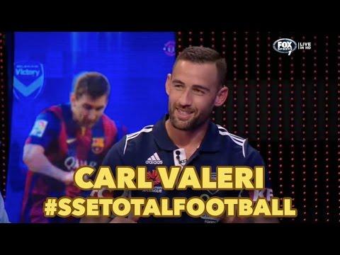 Carl Valeri on Total Football