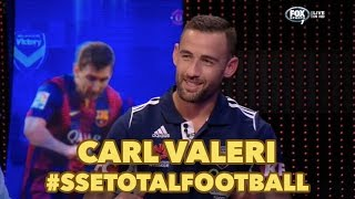 Carl Valeri on Total Football