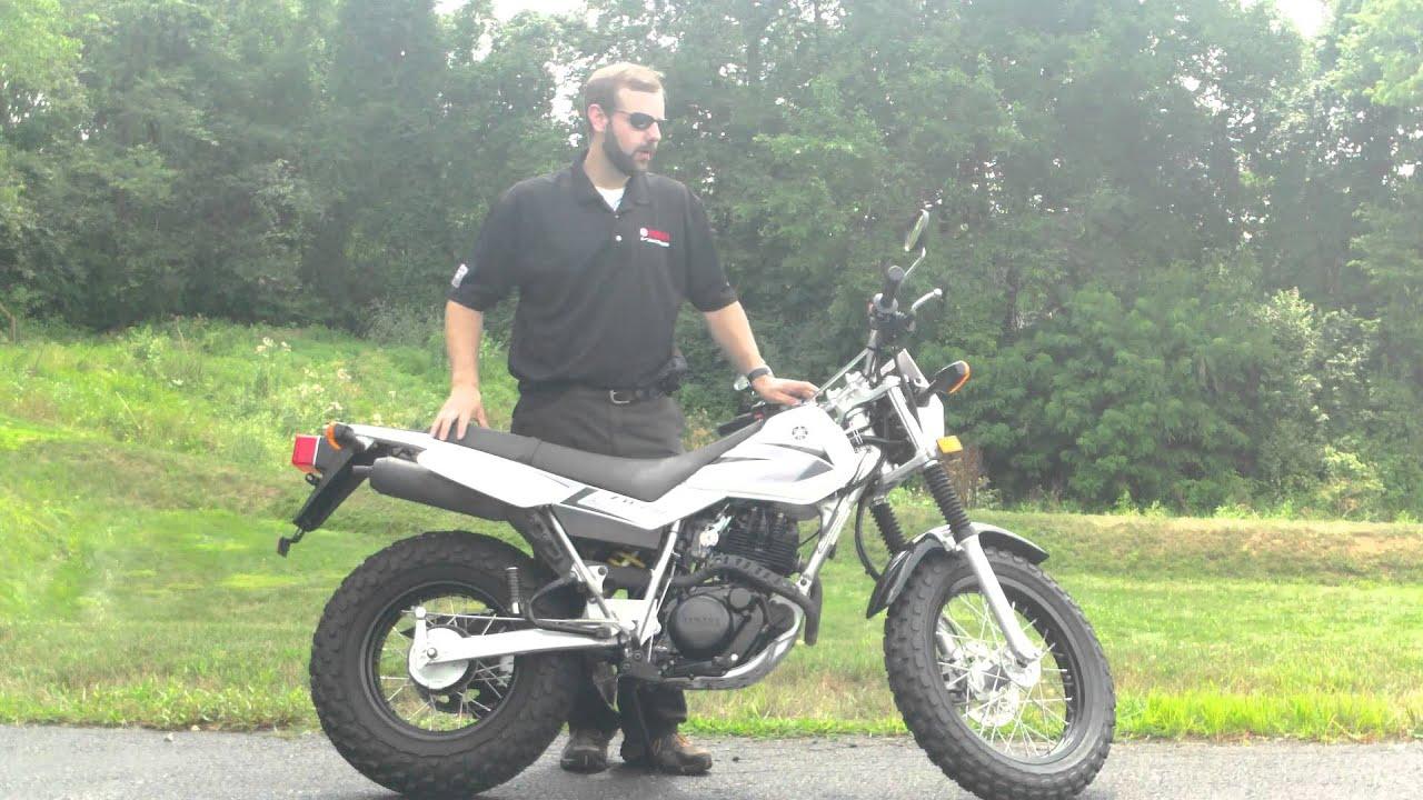 2008 Yamaha TW200 - YouTube