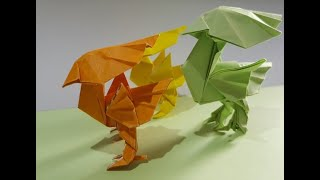 Origami Yellow Bird - Satoshi …