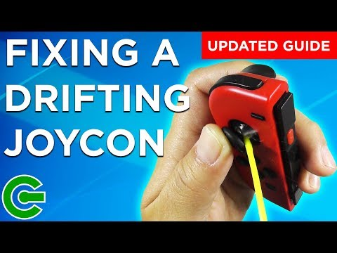 Fixing a Nintendo Switch DRIFTING JOYCON - Updated Guide