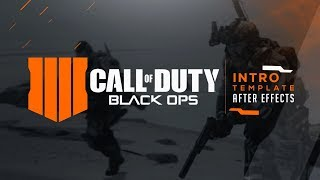 Call Of Duty Black Ops 4 | Intro Template | After Effects