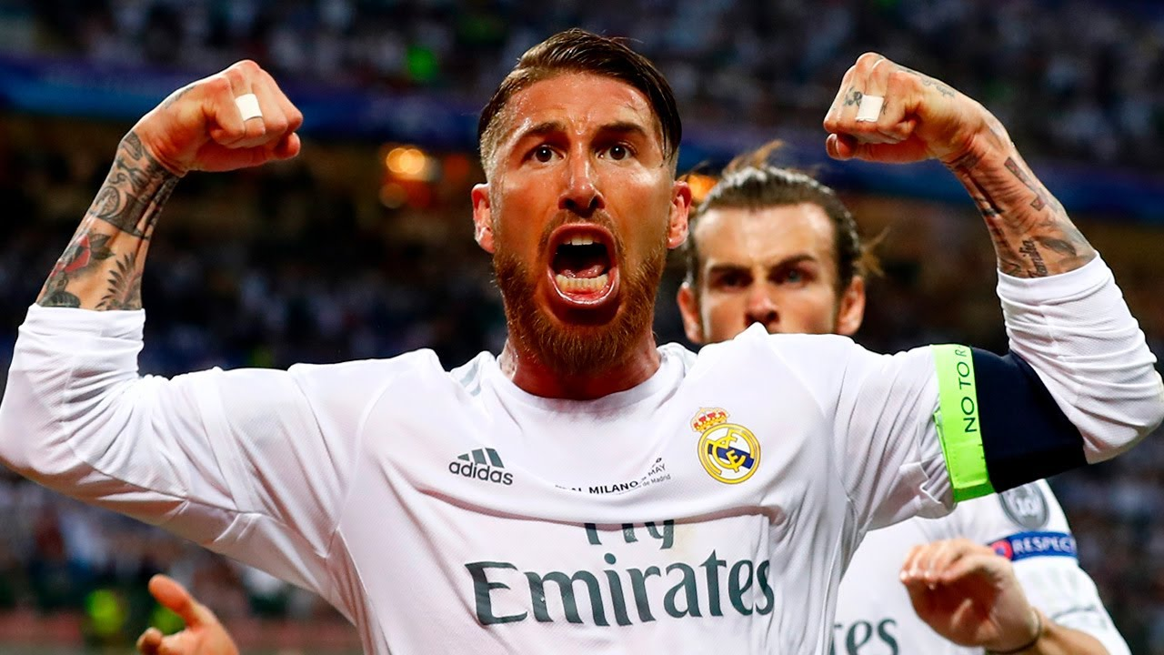 Sergio Ramos, ALL CHAMPIONS LEAGUE goals   Real Madrid