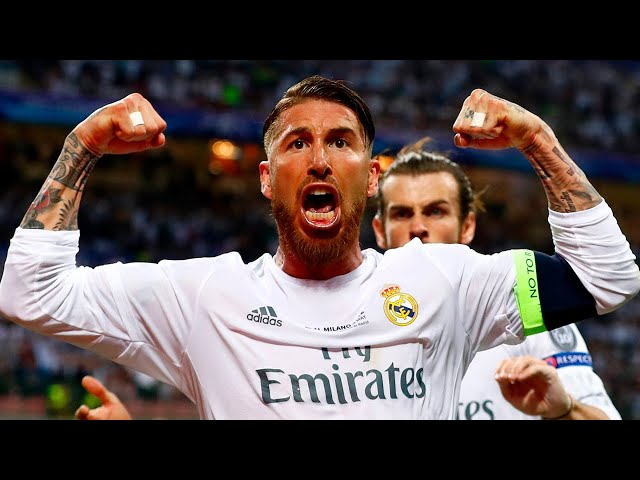 Sergio Ramos, ALL CHAMPIONS LEAGUE goals | Real Madrid
