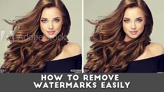 Cara menghilangkan watermark pada photoshop