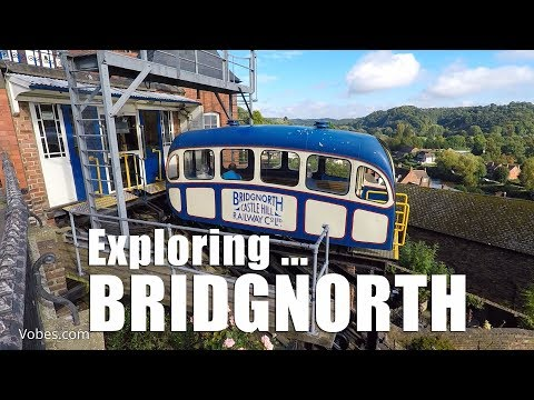 Walks in Shropshire: Exploring Bridgnorth