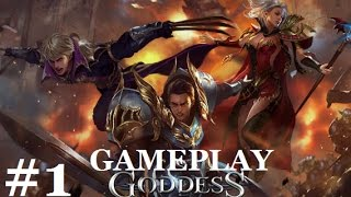 goddess: Primal Chaos #1 Геймплей Прохождение Gameplay iOS/Android Мини обзор игры и первые шаги