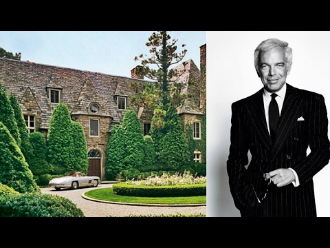 Ralph Lauren's House - 2017 | Luxurious Life of Ralph Lauren | Ralph Lauren Net Worth - 2017