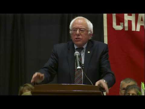 Bernie Sanders Speech at the Champlain Valley Union High School Graduation Ceremony