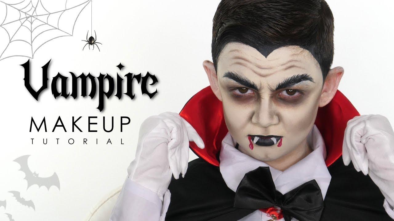 Vampire Makeup Tutorial For Halloween  Shonagh Scott  Makeup For Kids