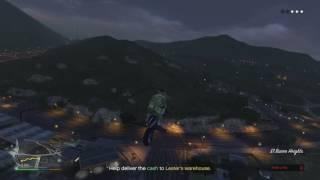 GTA 5 online missisons Crime Scenester Lester