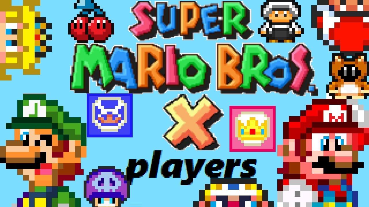 Playable Characters Super Mario Bros X Wiki Fandom Powered