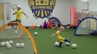 VLOG Видео для детей и родителей. Детский футбол. Тренировка football for kids videos
