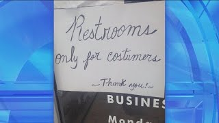 What's Wrong With These Signs Signs? Costumers, I Think Not