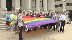 Gay pride rally held in Springfield