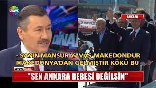 """""""Sen Ankara bebesi değilsin"""""""