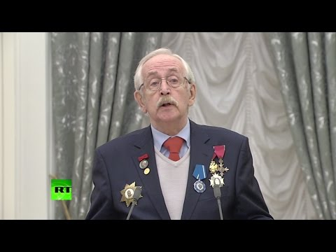 Актёр Ливанов — Путину об уходе с поста президента: «Даже не думай!» - Видео онлайн