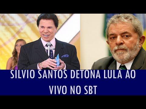 Silvio Santos detona Lula ao vivo no SBT; veja vídeo