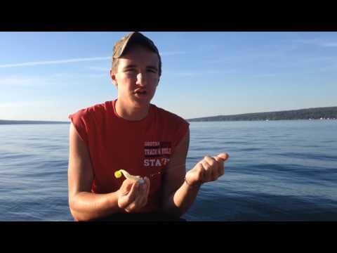 Jigging For Lake Trout On Cayuga Lake