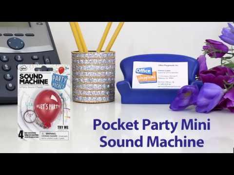 Pocket Party Mini Sound Machine