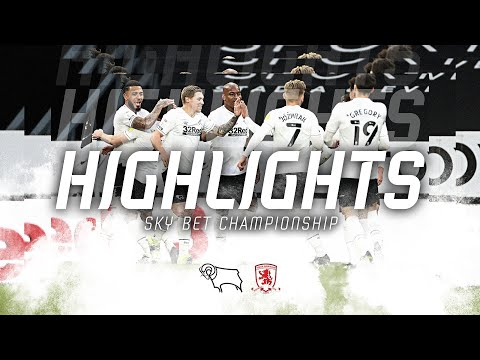 Derby Middlesbrough Goals And Highlights