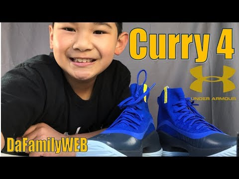 Kids Stephen Curry Under Armour Curry 4