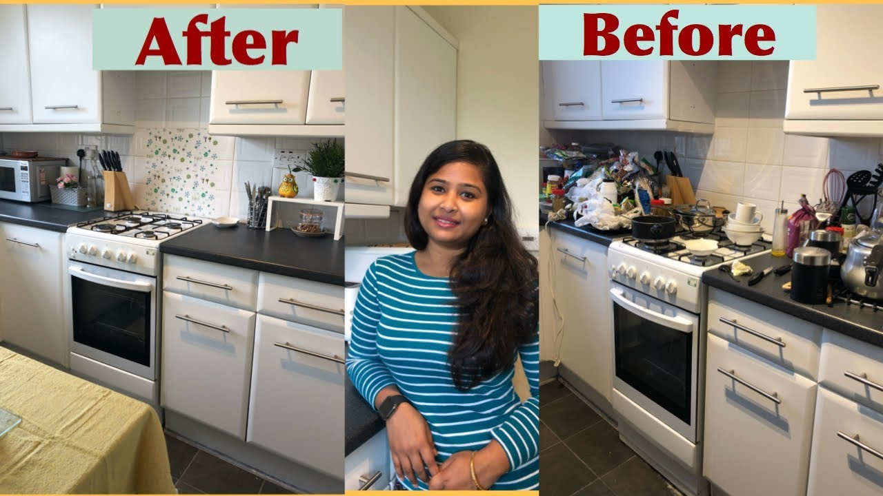My New Kitchen Setup Disaster Cleaning Organisation Vlog Youtube