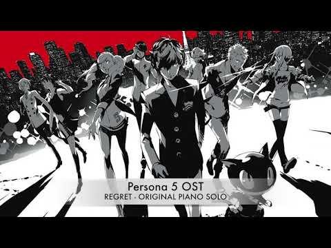 Persona 5 OST - Regret (Original piano transcription + SHEET MUSIC)