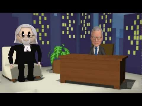 Taib interviewed by David Letterman