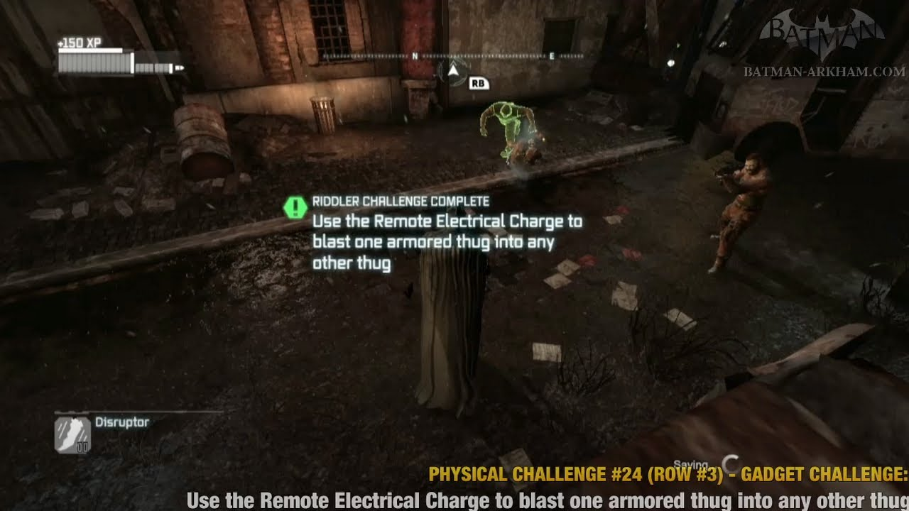 Batman: Arkham City - Physical Challenges - Row #3