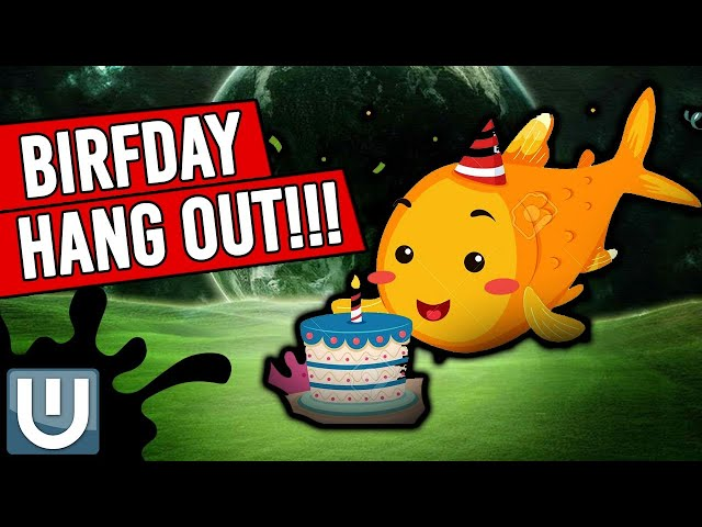 Birthday Hangout w/Aquascape Evals and Trivia!