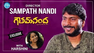 Goutham nanda director sampath nandi exclusive interview || talking movies with idream #455