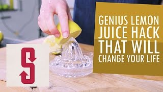 Genius Lemon Juice Hack That Will Change Your Life