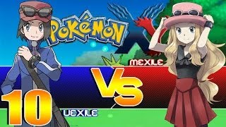 Pokemon X and Y Version Co-op Part 10: The first white out!