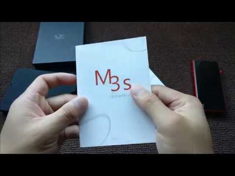 [Binaural Silent Unboxing] Shanling M3S Portable Media Player