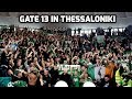 Gate 13 In Thessaloniki (Panathinaikos - Aris 68-59)