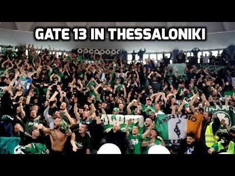 Gate 13 in Thessaloniki (Panathinaikos - Aris 68-59)