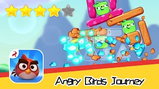 Angry Birds Journey 21-22 Walkthrough Fling Birds Solve Puzzles Recommend index four stars
