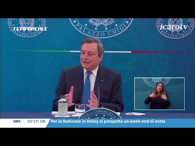 Tempo Reale 20/21. La puntata del 9 aprile: le parole di Draghi