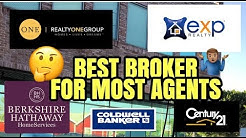 The BEST Real Estate Company For MOST Real Estate Agents