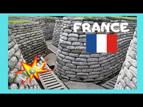 FRANCE: WW1 Battlefield At Vimy Ridge 😲, Let's Walk On Real Allied Trenches