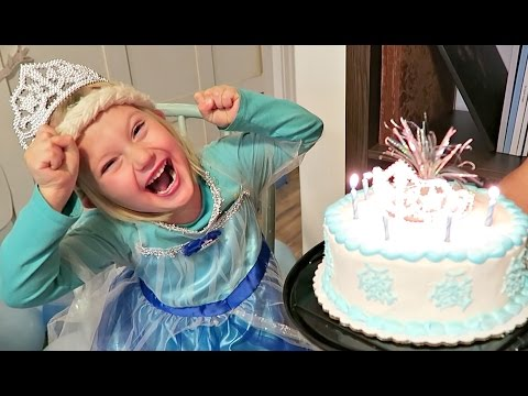 FROZEN BIRTHDAY PARTY | ELSA & ANNA | FROZEN MOVIE PARTY