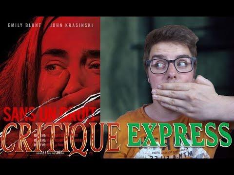 CRITIQUE EXPRESS - SANS UN BRUIT (sans spoil)