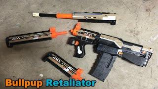 Bullpup Nerf Retaliator Mod (Rutlup) w/ Barrel System | Walcom S7