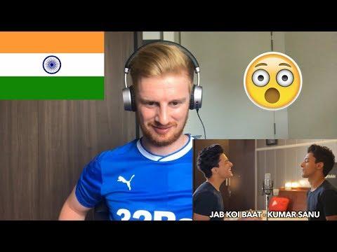 (WOW!!) ENGLISH v/s HINDI Songs (Mashup by Aksh Baghla) // REACTION
