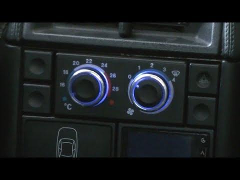 Установка крутилок печки на ВАЗ 2110 от Ford Focus
