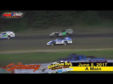 Grand Rapids Speedway 6/8/17 Advantage RV Mod Tour Jeremy Nelson & Kevin Adams