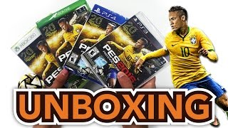 PES 2016 (Pro Evolution Soccer) (PS4/PS3/XBox One/Xbox 360) Unboxing !!